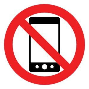 No Phone Illustration