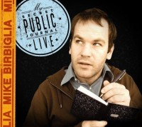 Secret Public Journal stand up comedy cover art